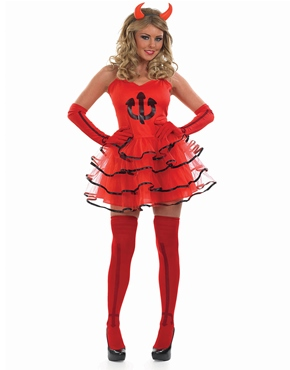 Adult Devil Tutu Costume