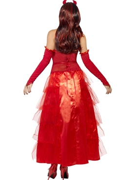 Adult Devilish Glamour Costume - Side View