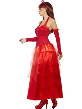 Adult Devilish Glamour Costume - Back View
