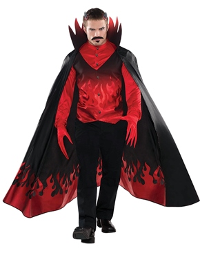 Adult Diablo Devil Costume - Back View