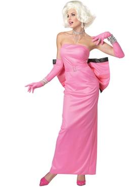 Adult Diamonds Marilyn Costume