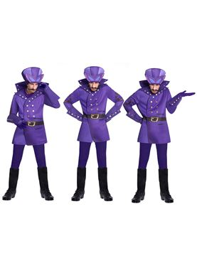 Dick Dastardly Wacky Races Costume - Side View