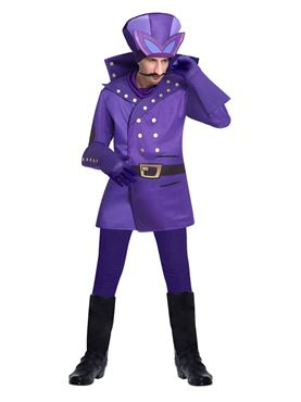 Dick Dastardly Wacky Races Costume - Back View