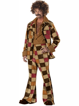 Adult Disco Sleazeball Costume