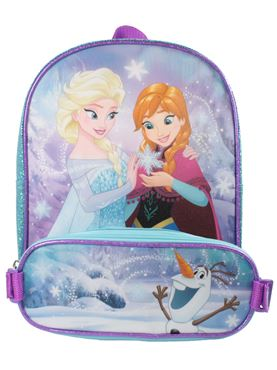 Disney's Frozen Backpack with Detachable Pencil Case