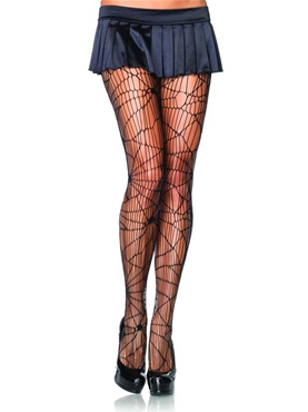 Adult Distressed Net Pantyhose