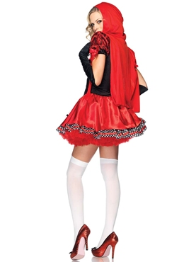 Adult Divine Miss Red Costume - Back View