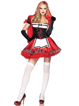Adult Divine Miss Red Costume