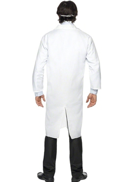 Adult Doctor Costume - Back View