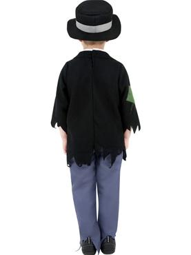 Child Dodgy Victorian Boy Costume - Side View
