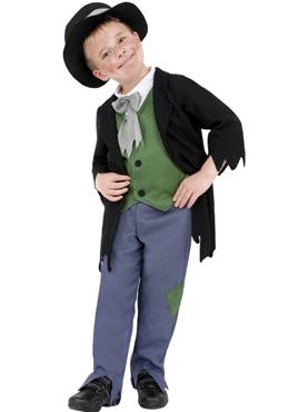 Child Dodgy Victorian Boy Costume