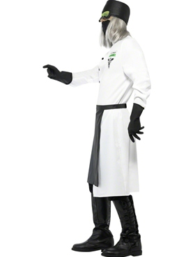 Adult Dr D.Ranged Costume - Back View