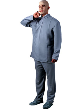 Adult Austin Powers Dr Evil Costume