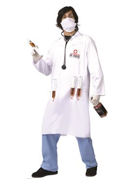 Adult Dr. Shots Costume