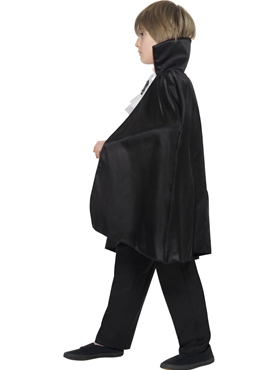 Child Dracula Boy Costume - Back View