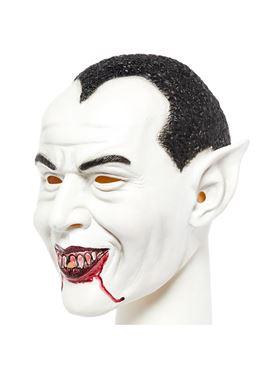 Dracula Full Head Mask - Side View