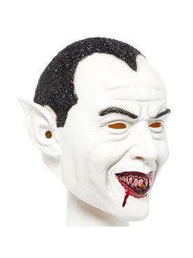 Dracula Full Head Mask - Back View