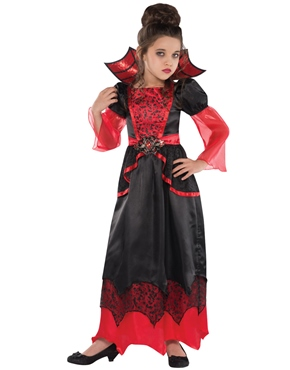 Vampire Queen Childrens Costume