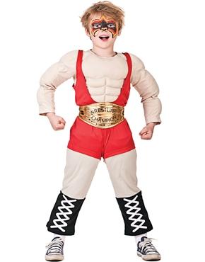Child Wrestler Costume