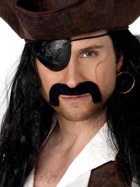Droopy Pirate Tash Black