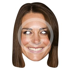 Duchess of Cambridge Card Mask