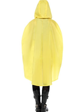 Duck Party Poncho Festival Costume - Side View