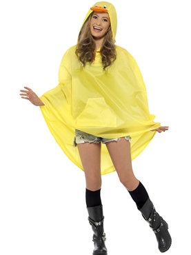 Duck Party Poncho Festival Costume