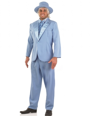 Adult Dumb & Dumber Harry Dunne Christmas Tuxedo Costume Thumbnail