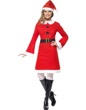 Adult Miss Santa Costume