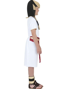 Child Egyptian Boy Costume - Back View