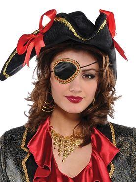 Elegant Pirate Eye Patch