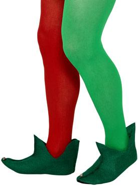 Elf Boots Green