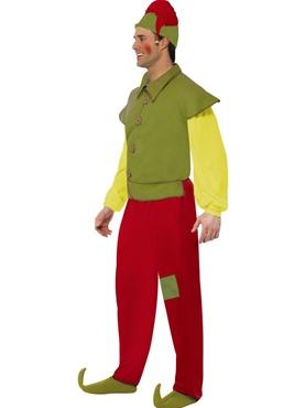 Adult Elf Costume - Back View