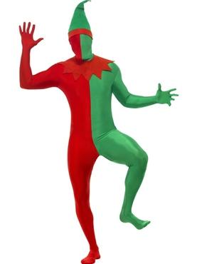 Adult Elf Second Skin Costume