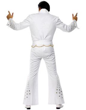 Adult Elvis American Eagle Costume - Back View