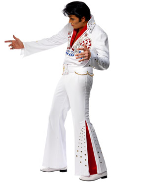 Adult Elvis American Eagle Costume - Side View