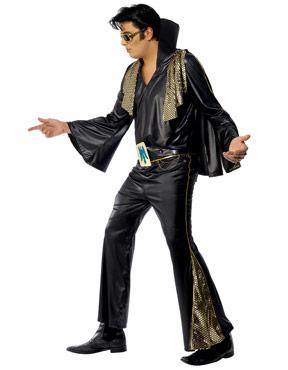 Adult Elvis Costume - Side View