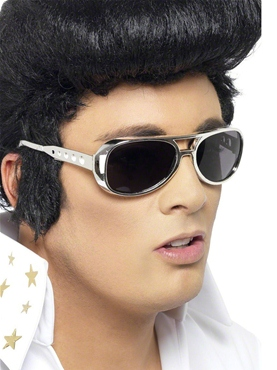 Elvis Shades Silver - Side View