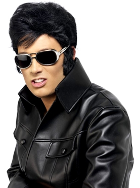 Elvis Shades Silver - Back View