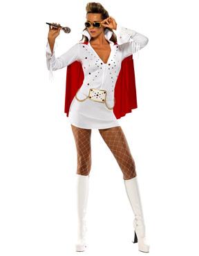 Adult Elvis Viva Las Vegas Costume