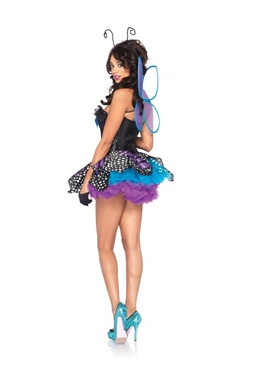 Adult Emperor Butterfly Costume - Back View