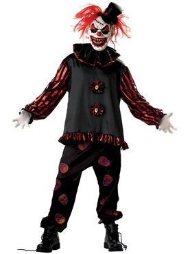 Adult Carver the Killer Clown Costume Thumbnail