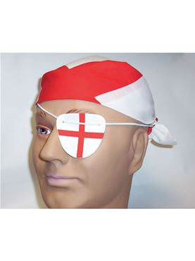 England Bandana & Eye Patch