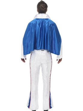 Adult Evel Knievel Costume - Back View