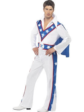 Adult Evel Knievel Costume
