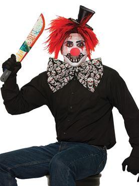Evil Clown Bow Tie