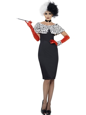 Adult Evil Madame Cruella Costume