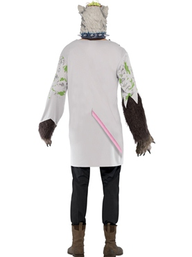 Adult Experiment Lab Rat Costume - Side View