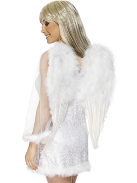 Adult Extra Large White Feather Angel Wings