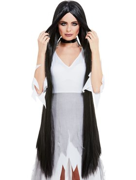Extra Long Halloween Witch Wig
